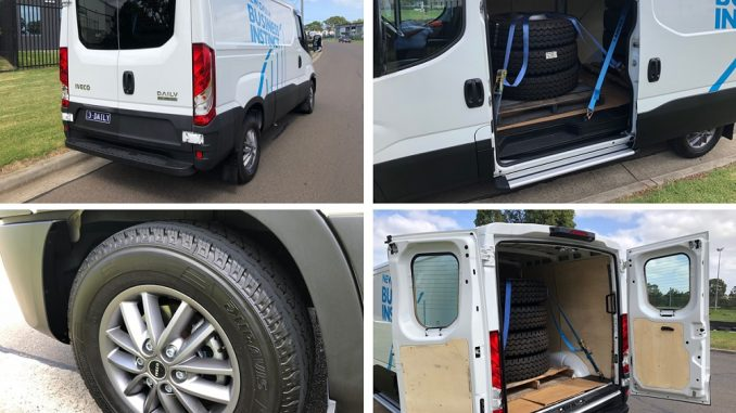 iveco daily van cargo space