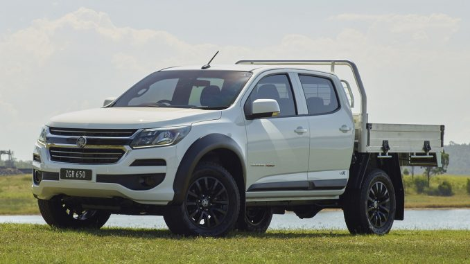 holden colorado lsx 2018