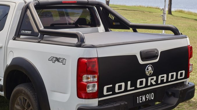 2018 holden colorado lsx cab chassis