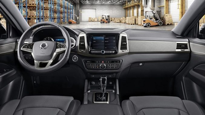 2018 ssangyong musso interior