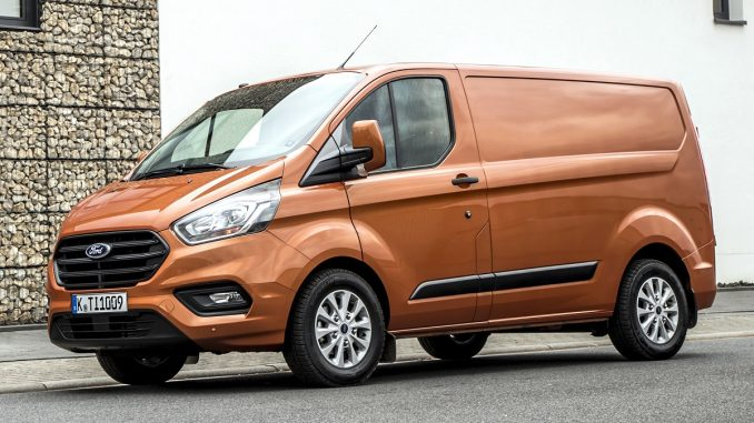 2018 Ford Transit Custom Van