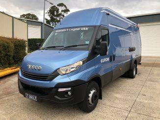 2018 iveco daily 70c van
