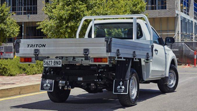 mitsubishi triton cab-chassis
