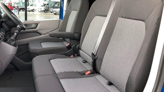 2019 Volkswagen Crafter cabin