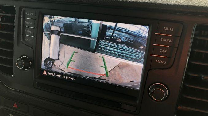 2019 volkswagen crafter reverse camera