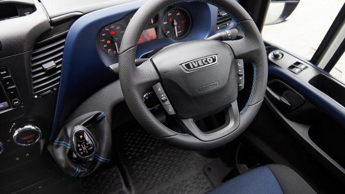 iveco daily blue interior