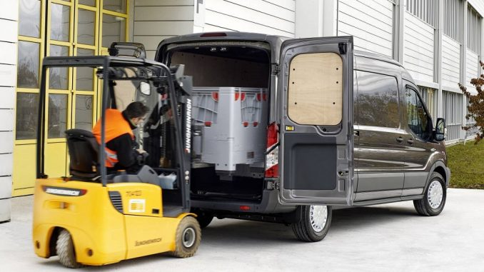 ford transit rear cargo load