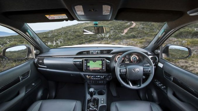 2018 Toyota HiLux Rogue interior