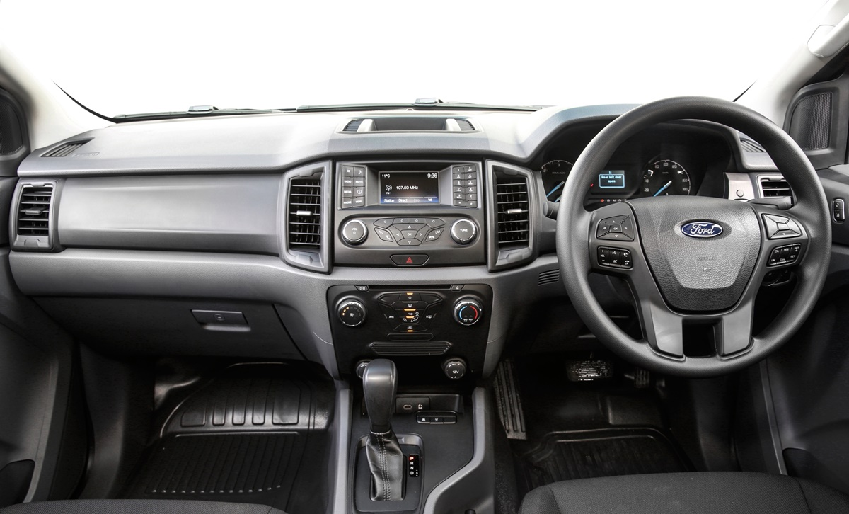 Ford Ranger dash