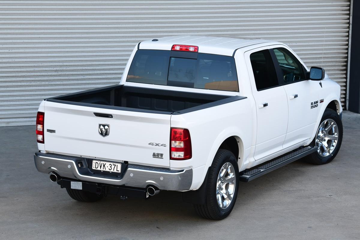 RAM 1500 Laramie rear