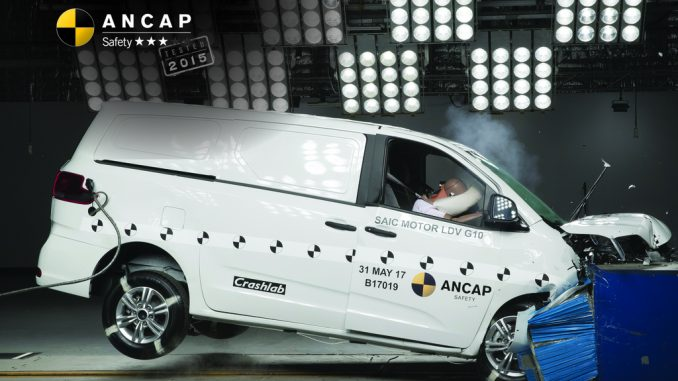 LDV G10 van ancap crash test