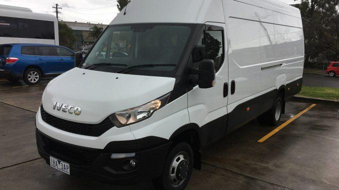 2017 iveco daily van