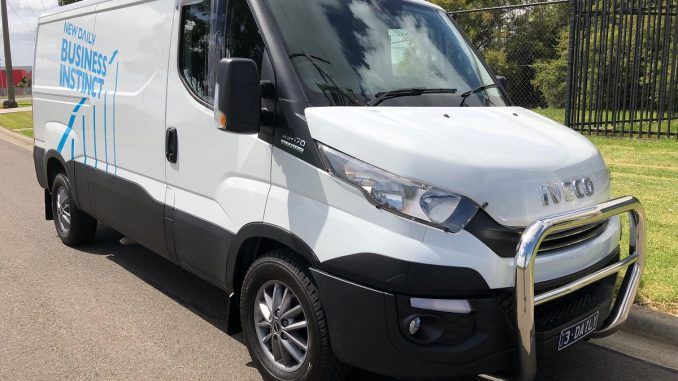 2018 iveco daily van