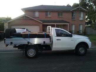 Mitsubishi Triton 2wd single cab load 3