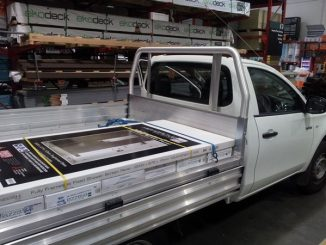 Mitsubishi Triton 2wd single cab load 4