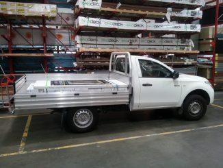 Mitsubishi Triton GLX 2WD Trayback load door