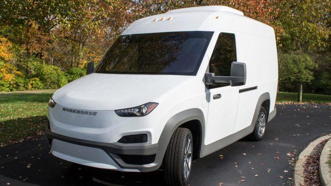 workhorse group electric van