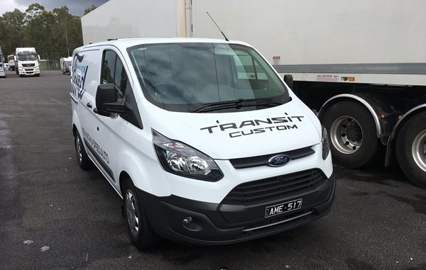 2017 Ford Transit Custom Van 1