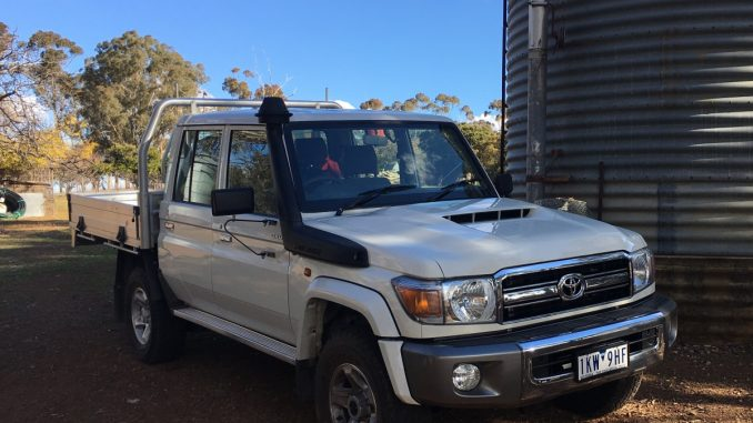 Toyota LC70 Dual Cab Ute GXL FEATURE