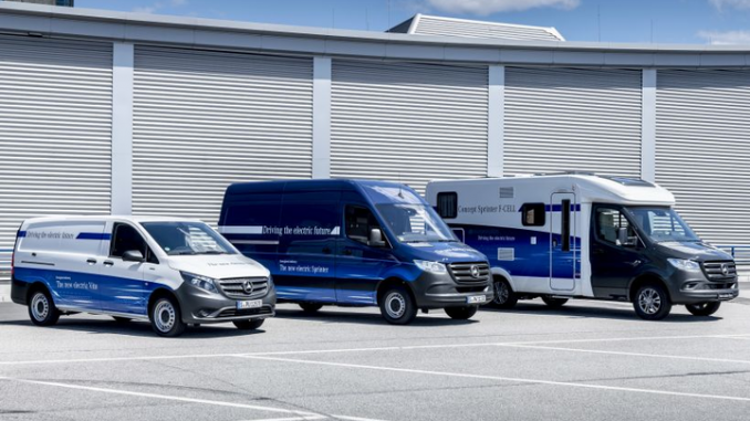 mercedes-benz sprinter hydrogen electric