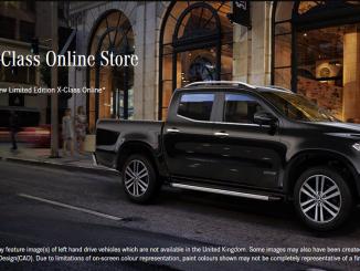 mercedes-benz x-class online sales portal