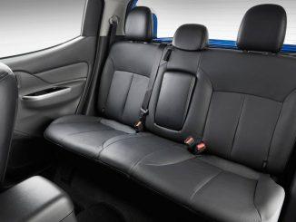 mitsubishi triton rear seat