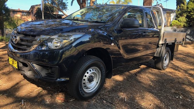 2018 mazda bt-50 freestyle cab 4x4