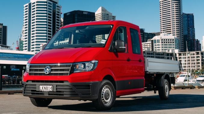 volkswagen crafter boosts vw sales  july ute  van guide