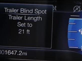 ford ranger trailer blindspot system