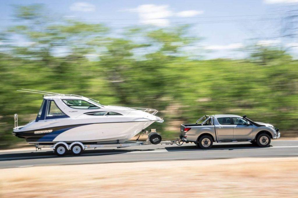 2018 Mazda BT50 tow