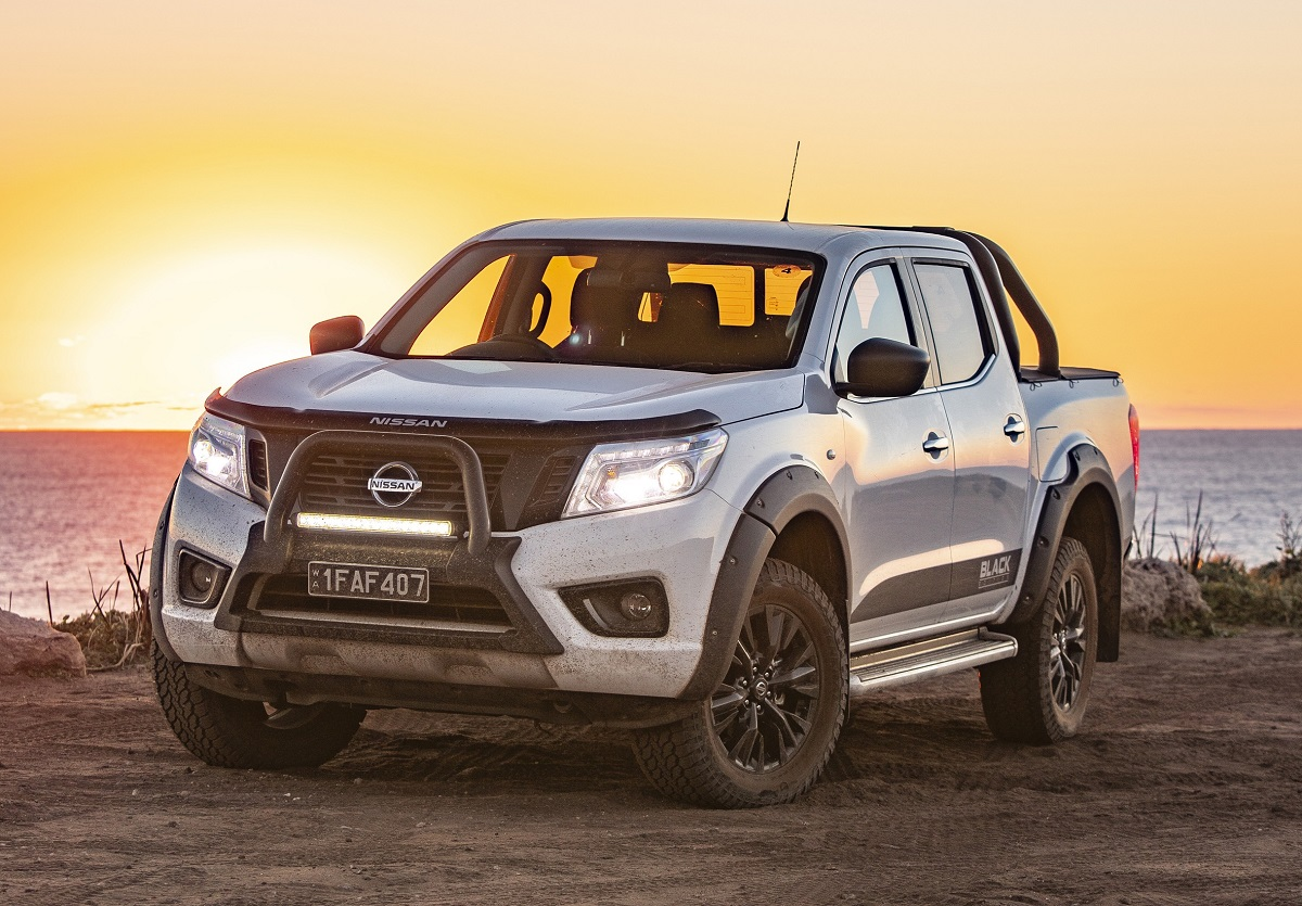2018 nissan navara st black edition review ute and van guide. Black Bedroom Furniture Sets. Home Design Ideas
