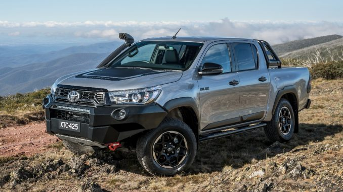 2018 Toyota HiLux Rugged X fromnt