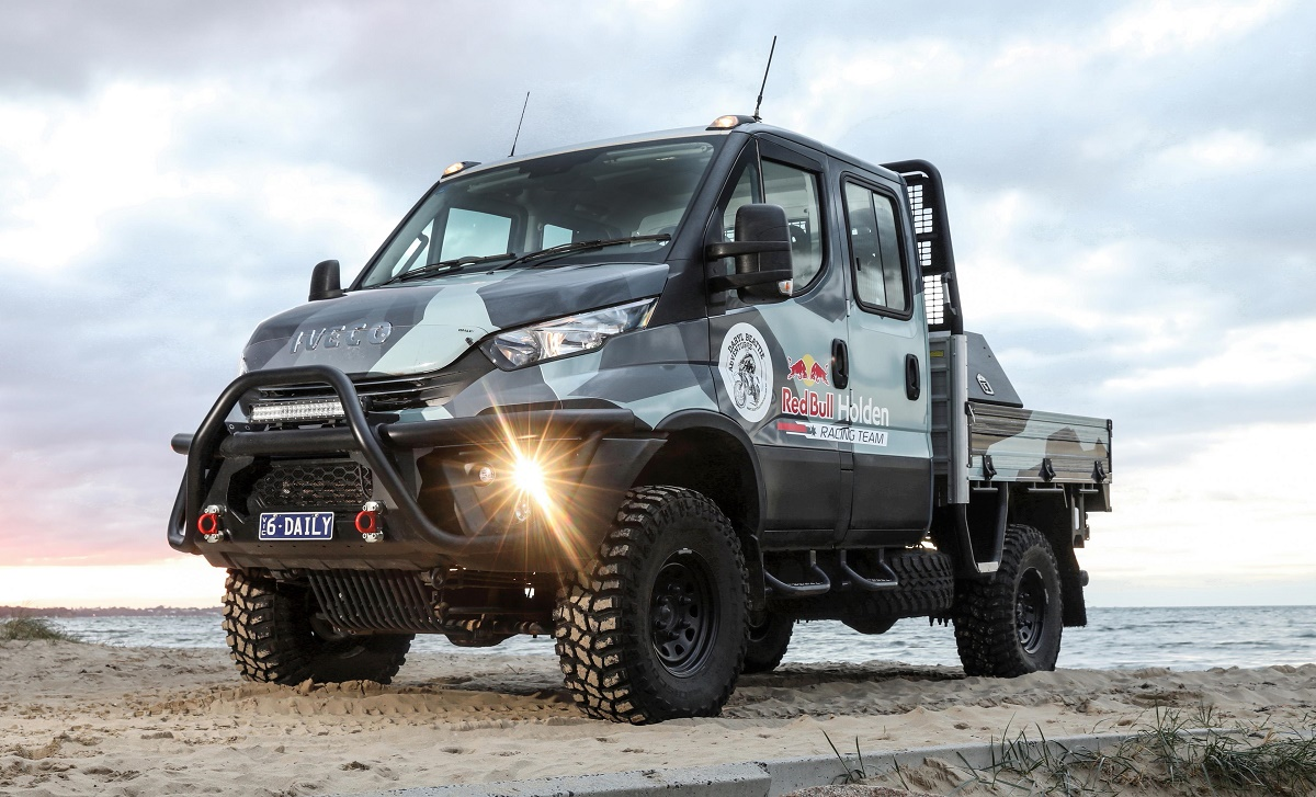 4x4 Van For Sale >> Safety boost for Iveco Daily 4x4 | Ute and Van Guide