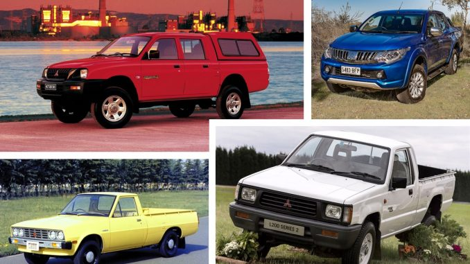 four decades of mitsubishi triton