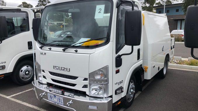 2018 isuzu n-series servicepack X