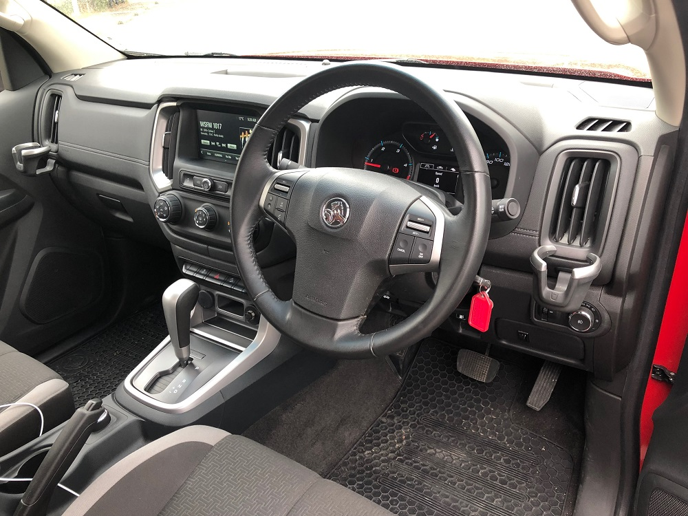 2018 Holden Colorado LT interior