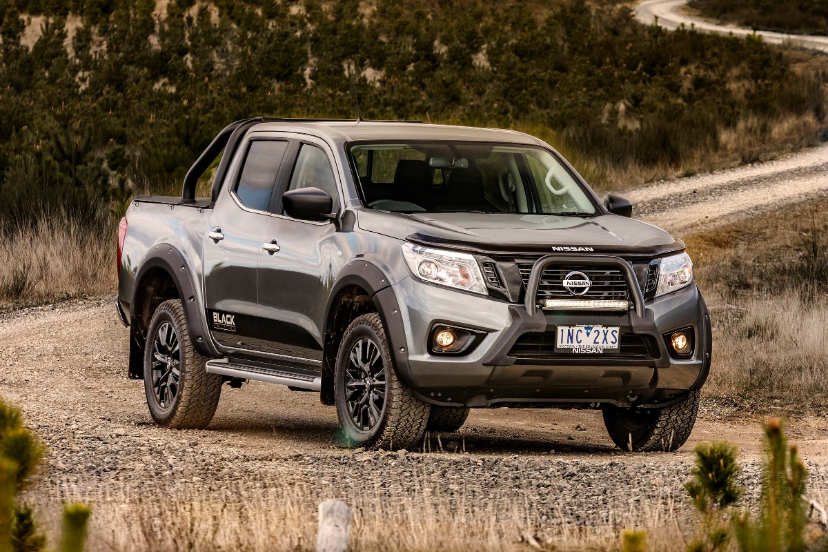 2018 nissan navara black edition review ute and van guide. Black Bedroom Furniture Sets. Home Design Ideas