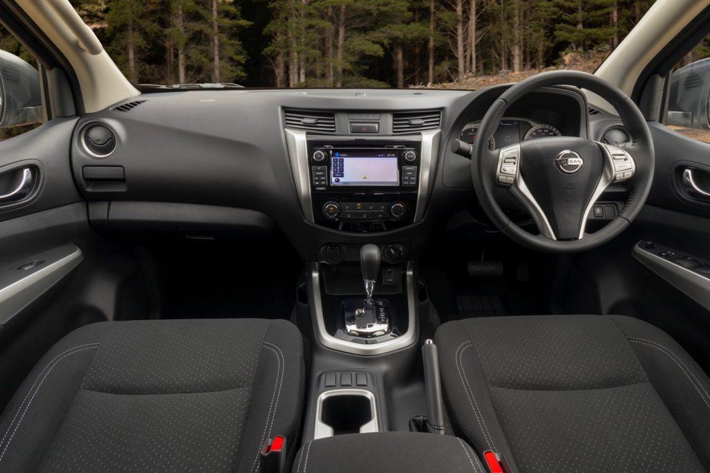 Nissan Navara ST Black Edition interior