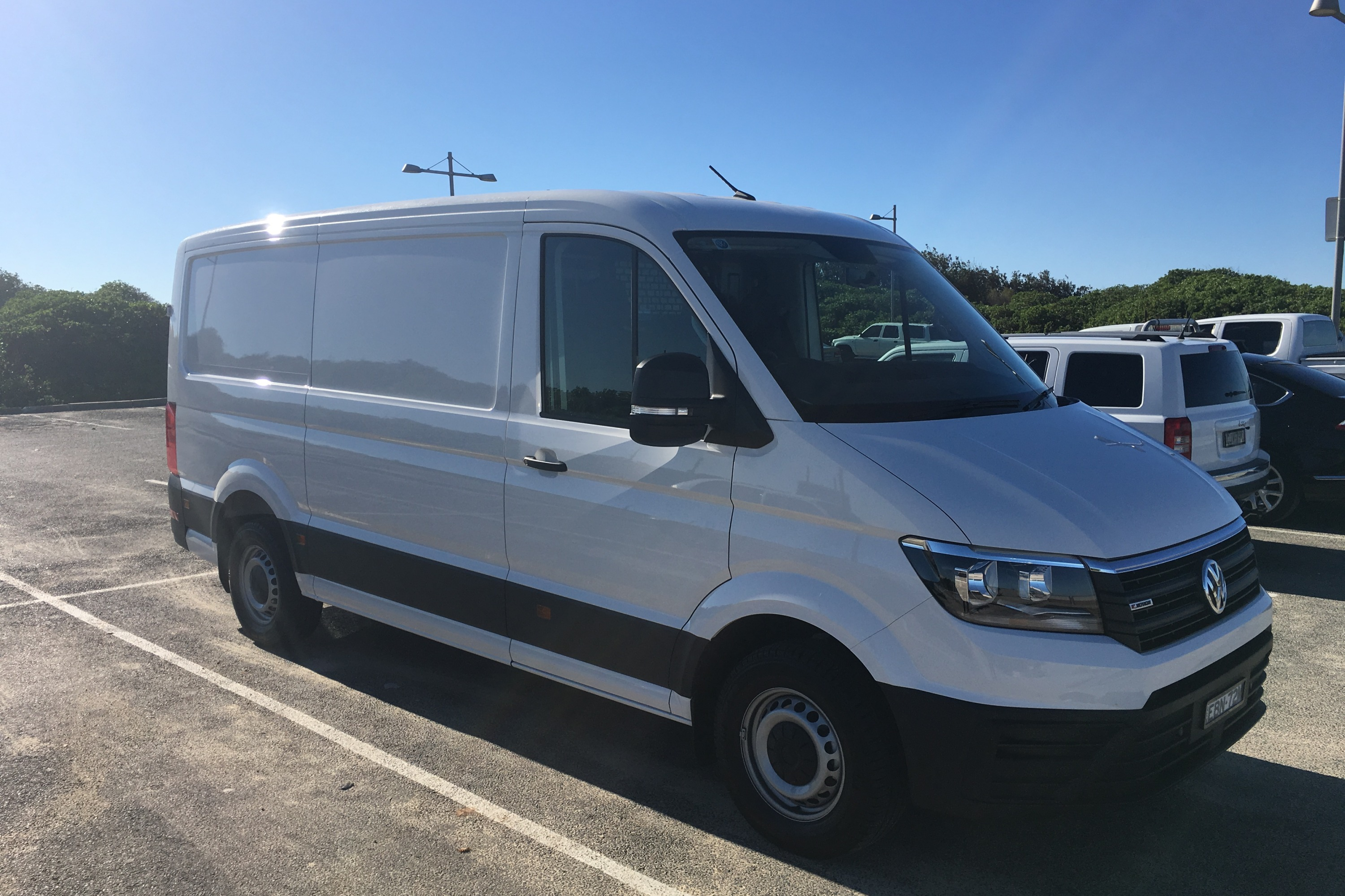2019 VW Crafter 4MOTION 10 parking