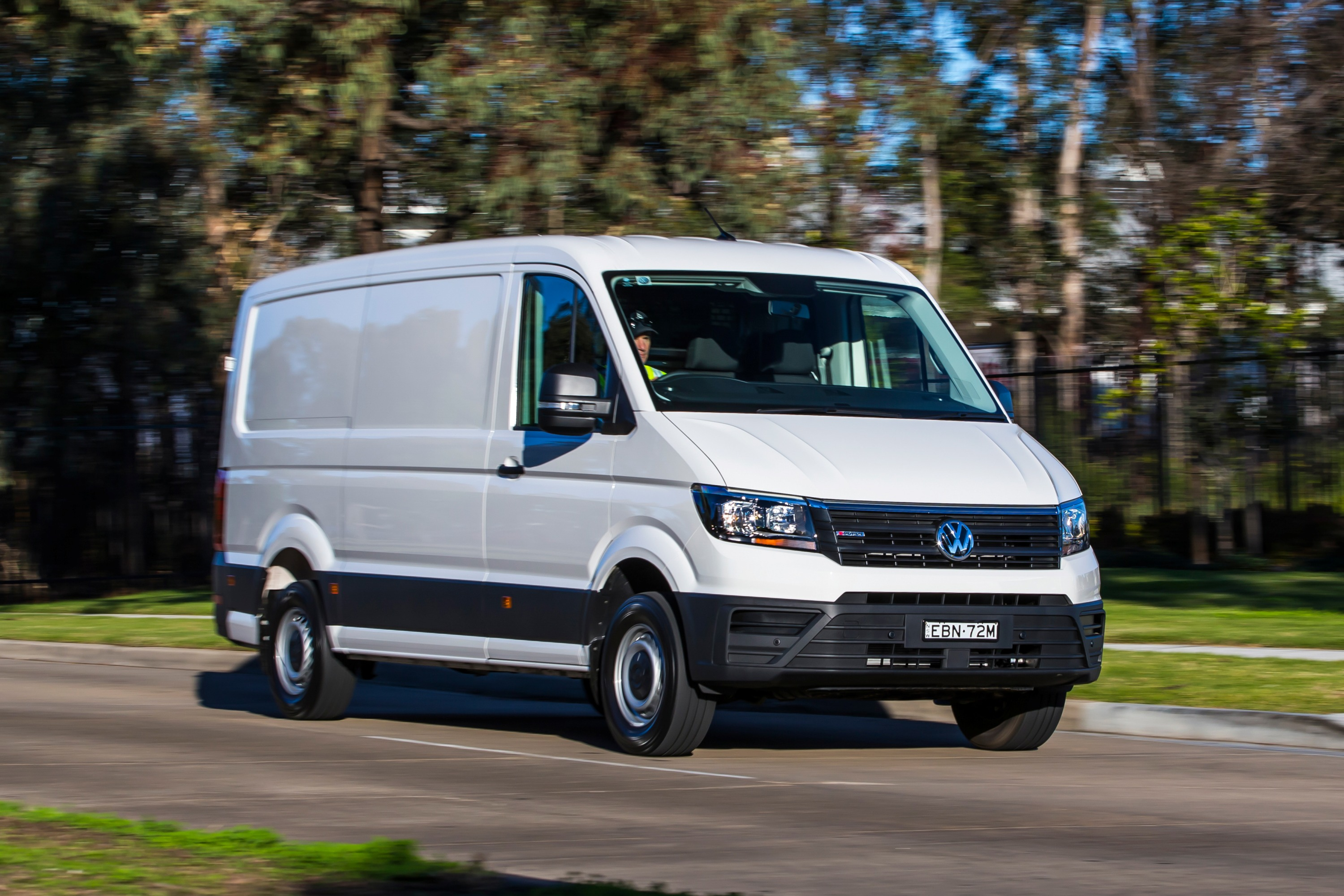 2019 Volkswagen Crafter 4MOTION AWD.