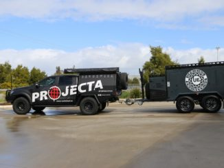 2019 Projecta powered Tradesman Trailer