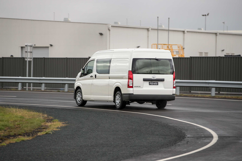 2019 Toyota HiAce SLWB Van.