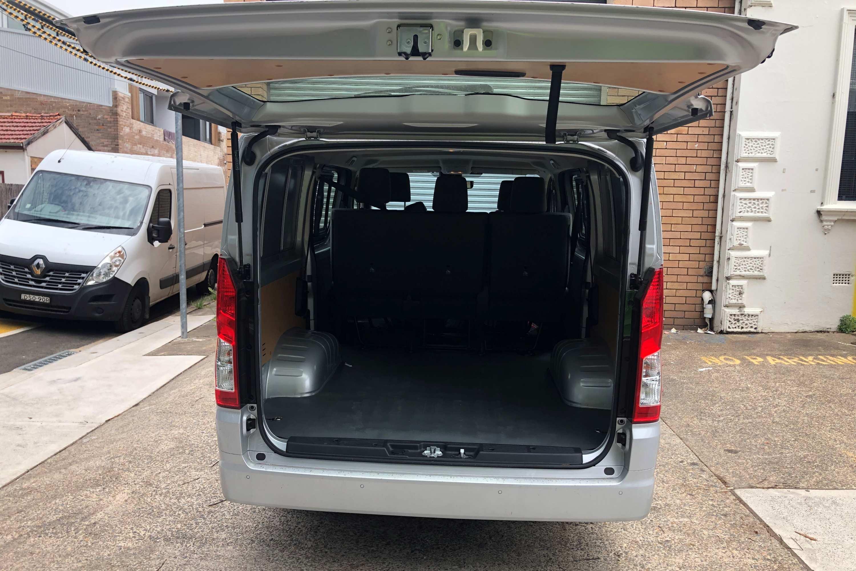 2019 Toyota HiAce LWB Crew Van 3 rear