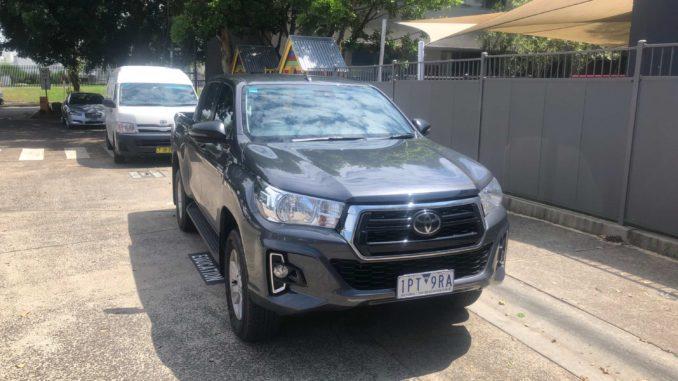 2019 Toyota HiLux 4x4 SR double cab