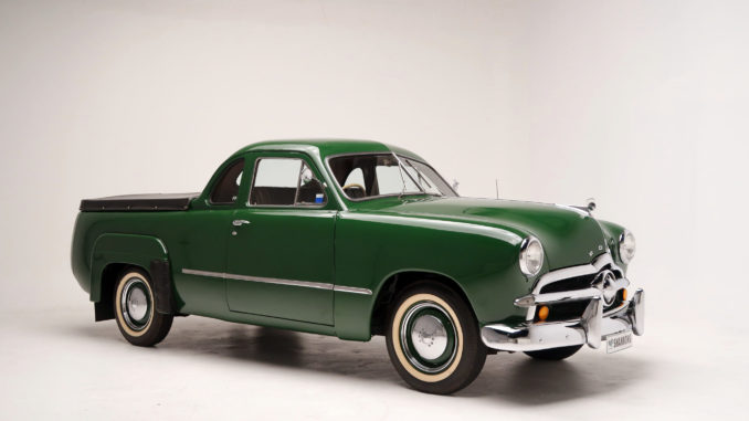 This wonderful 1949 Ford V8 'Single Spinner' Utility 'survivor', which presents in lovely cosmetic condition, is expected to sell for $24,000-$28,000 at Shannons Timed Online Auction, which runs from May 20 until June 3.