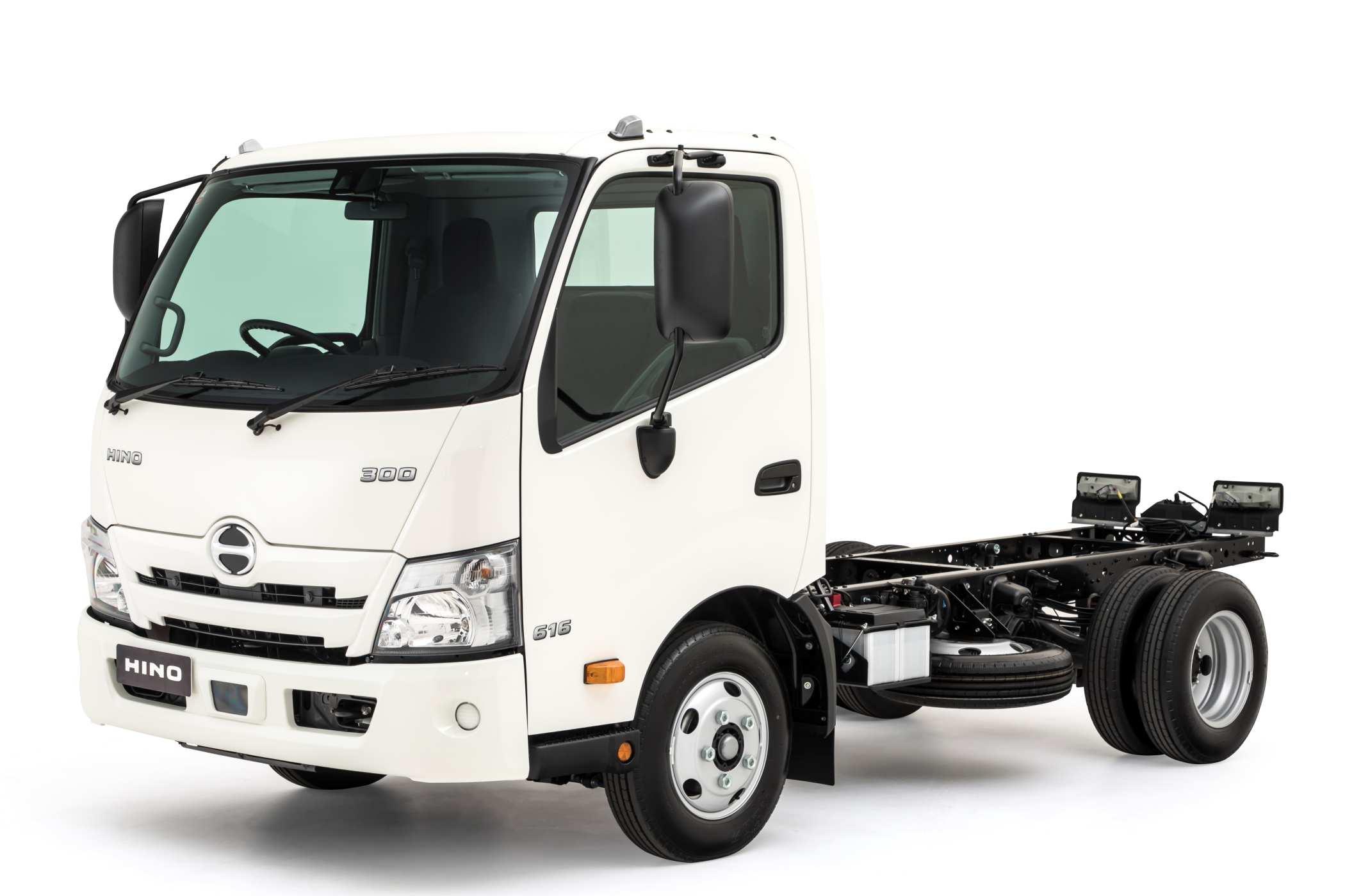 2020 Hino 300 616-L_Wide Cab