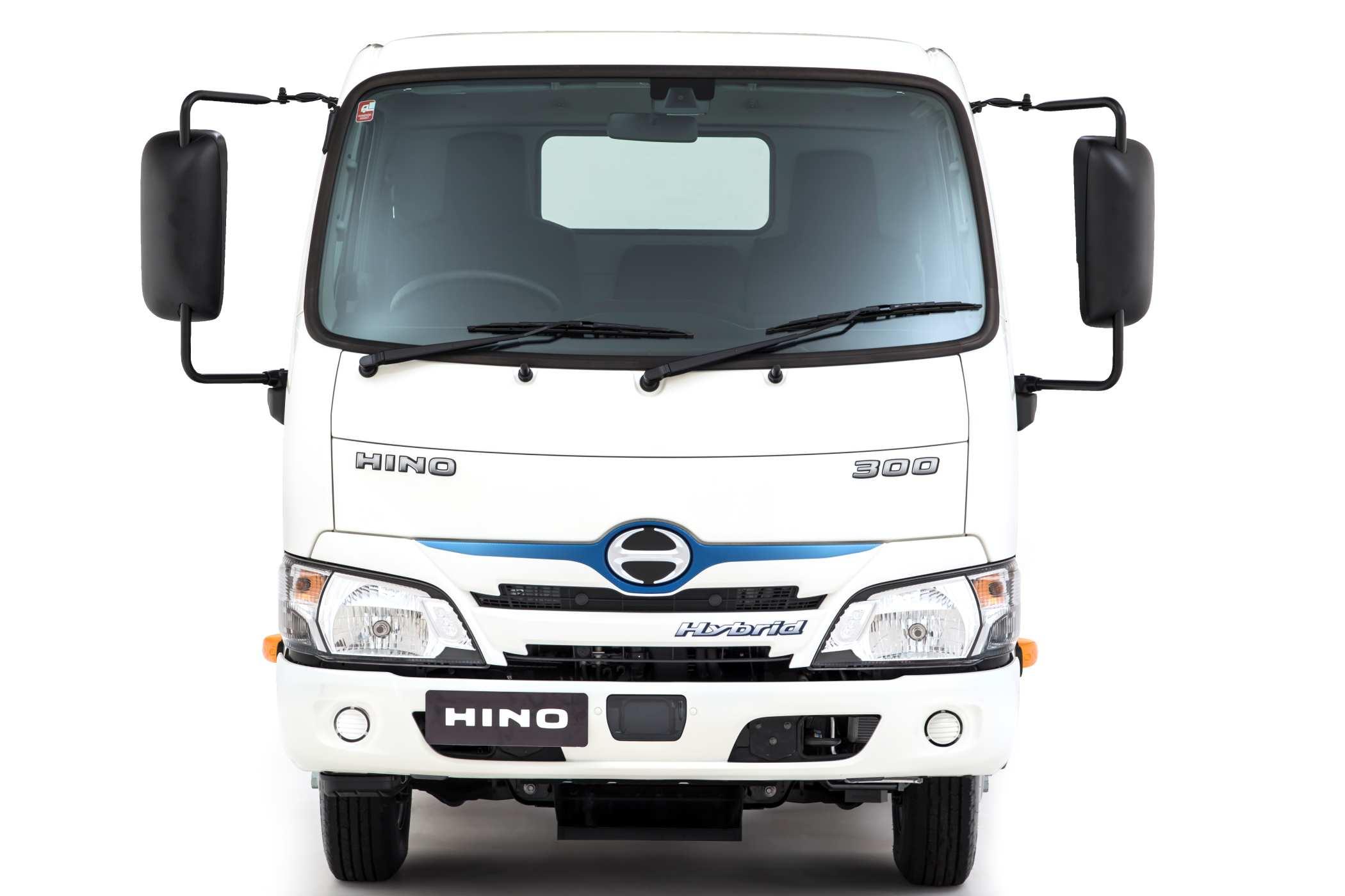 2020 Hino 300 Hybrid_Std Cab_Front