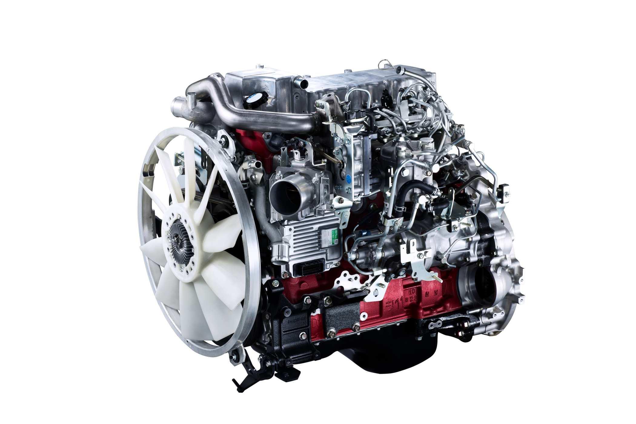 2020 Hino 319_J05E_Engine