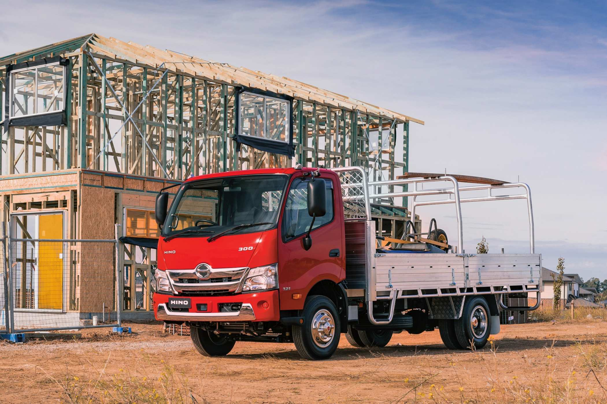 Hino 300 Series 721. Photo by Aaron Lam/The Photo Pitch