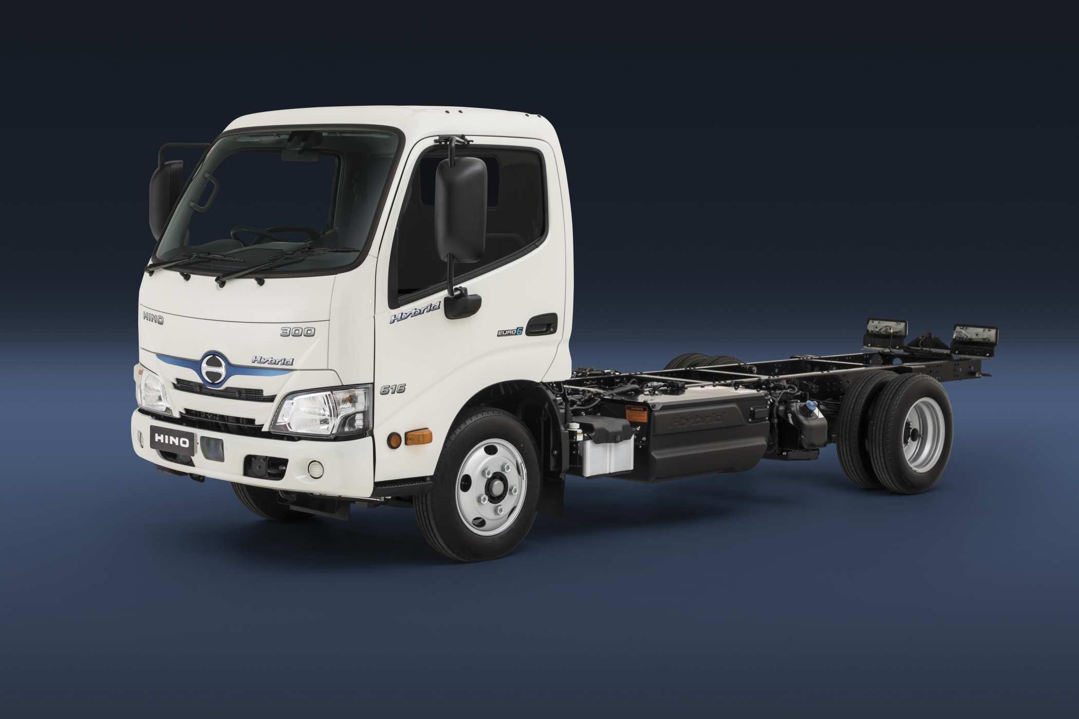 2020 Hino 300 Series Hybrid Cab chassis